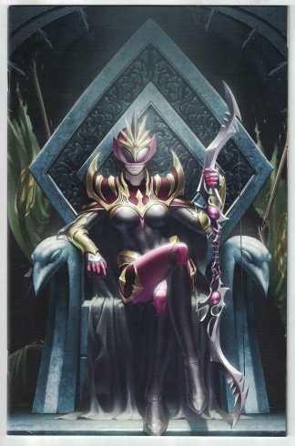 Power Rangers Drakkon New Dawn #1 One-Per-Store Virgin Variant Boom 2020 VF/NM