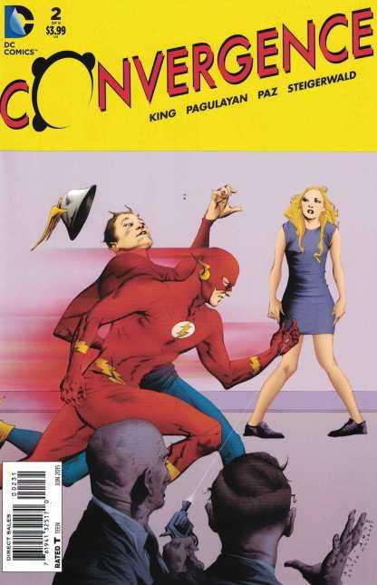 Convergence #2 1:25 Jae Lee Variant DC Flash 2015