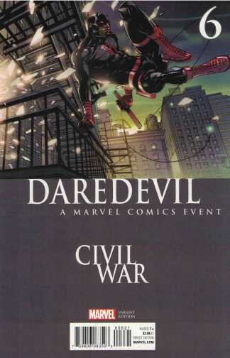 Daredevil #6 Pasqual Ferry Civil War Variant Marvel 2016