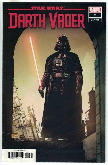 Star Wars Darth Vader #2 1:25 Raffaele Ienco Variant Marvel 2020 VF/NM