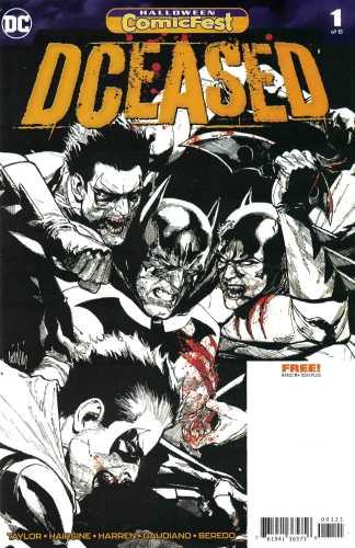 DCeased #1 1:250 Leinil Yu Comicfest B&W Variant DC 2019