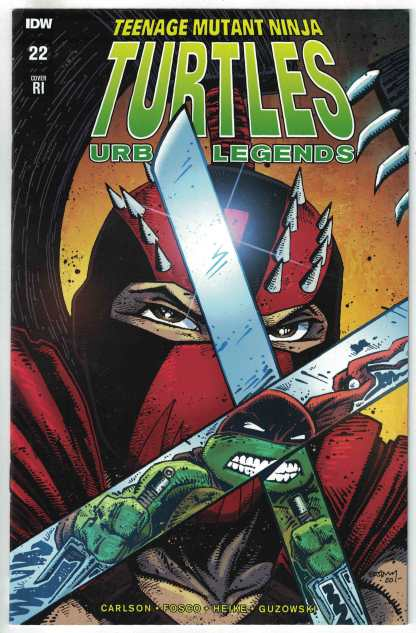 Teenage Mutant Ninja Turtles Urban Legends #22 1:10 Kevin Eastman Variant VF/NM
