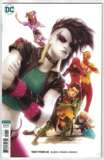 Teen Titans #22 Alex Garner B Cover Variant DC 2016 VF/NM