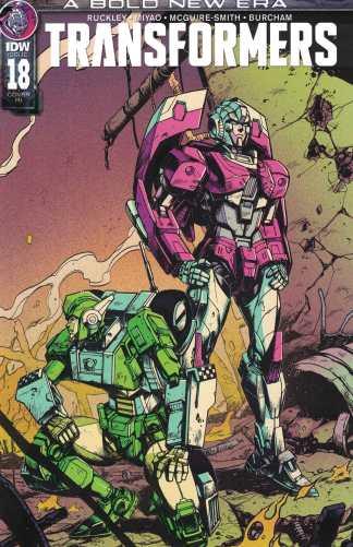 Transformers #18 1:10 Kei Zama RI Variant IDW 2019