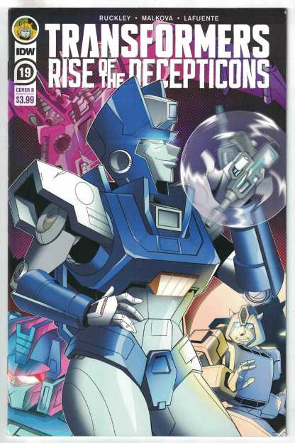 Transformers #19 Priscilla Tramontano Variant IDW 2019 Rise Decepticons VF/NM