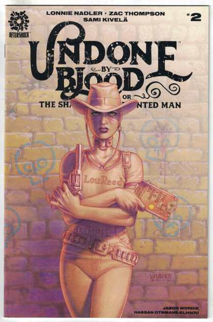 Undone By Blood #2 1:10 Joseph Michael Linsner Variant AfterShock VF/NM