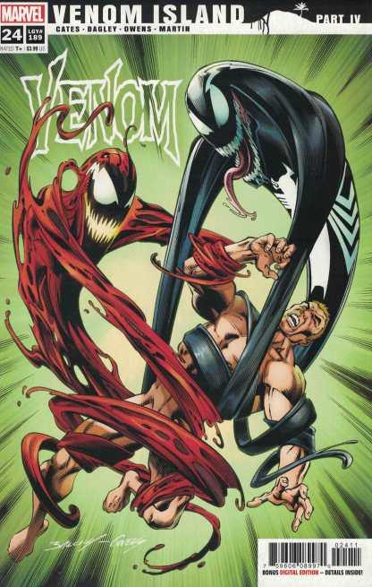 Venom #24 1st Printing Cover A Marvel 2018 Island LGY #189