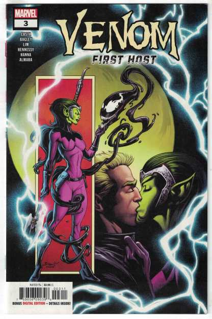 Venom First Host #3 1st Print Cover A Marvel 2019 1st Sleeper VF/NM