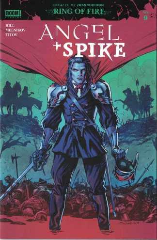 Angel #9 1:20 Jonas Scharf Variant BOOM 2019 Hellmouth Spike Buffy