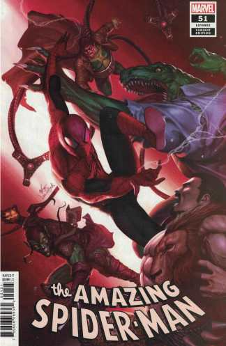 Amazing Spider-Man #51 1:25 InHyuk Lee Variant Marvel 2018 Last Remains