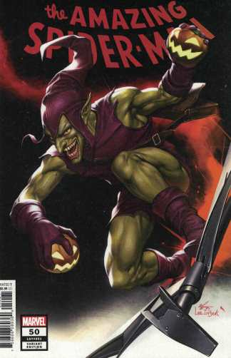 Amazing Spider-Man #50 1:25 InHyuk Lee Variant Marvel 2018 Last Remains