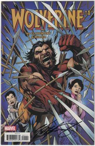 Wolverine #1 Dynamic Forces Chris Claremont SIGNED Alan Davis Variant DF w/ CoA