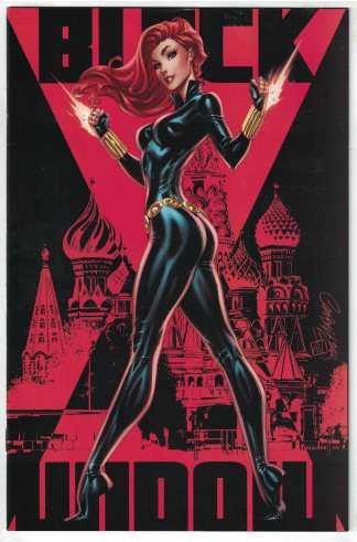 Black Widow #1 1:500 J Scott Campbell Virgin Variant Marvel 2020 VF/NM