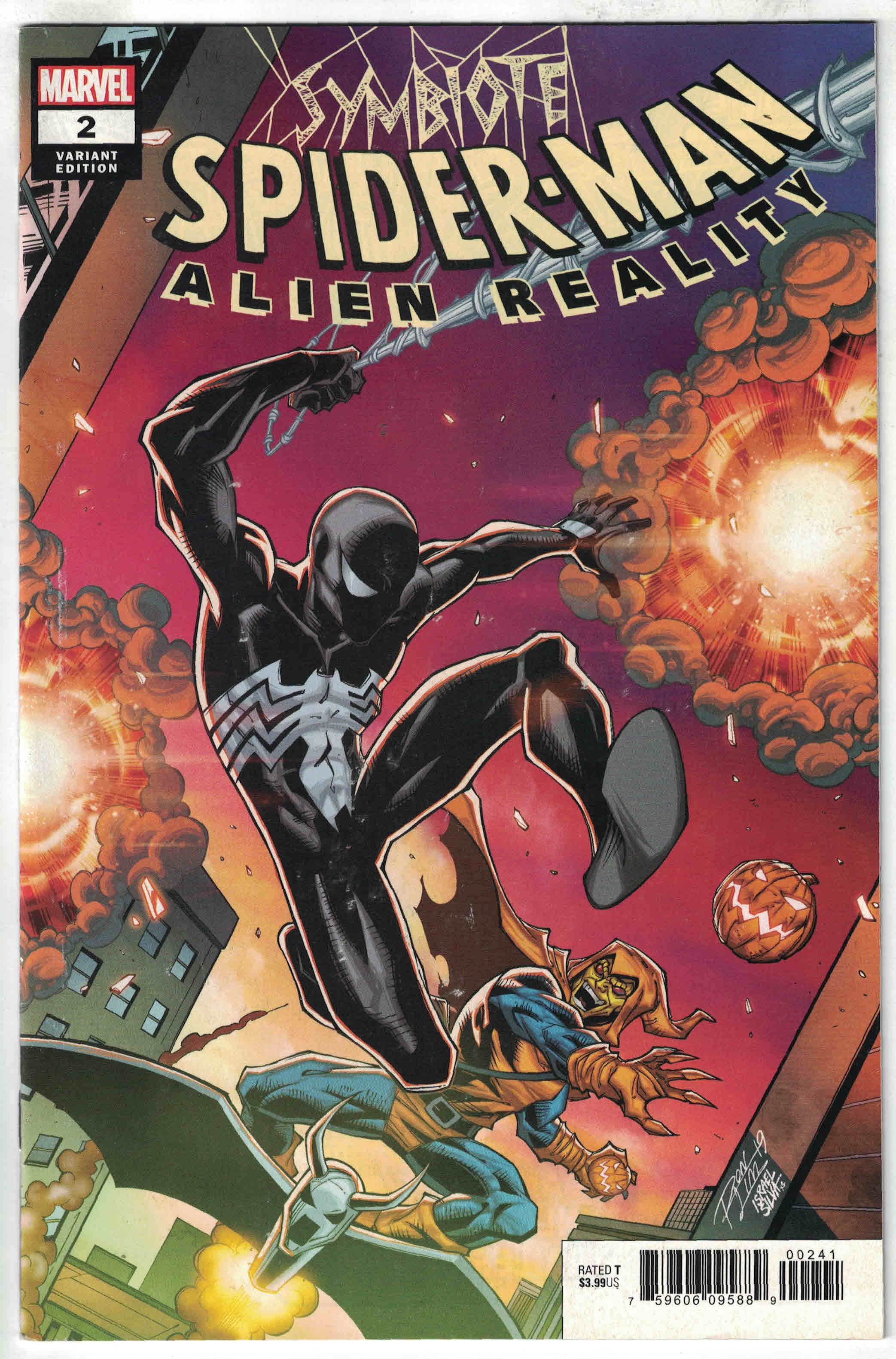 Symbiote Spider-Man Alien Reality #2 Marvel NM Comics Book