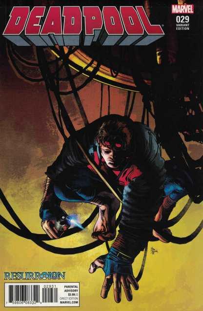 Deadpool #29 Mike Deodato Resurrxion Variant Marvel 2015 Gerry Duggan