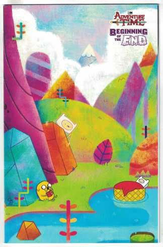 Adventure Time Beginning of the End #1 1:10 Corey Booth Variant Boom! VF/NM
