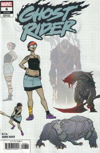 Ghost Rider #6 1:10 Aaron Kuder Variant Marvel 2019