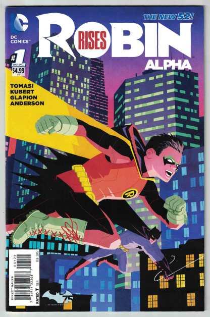 Robin Rises Alpha 1:50 Cliff Chiang Variant Batman DC 2014 VF/NM