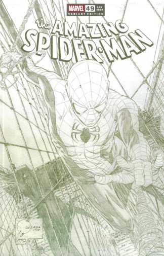 Amazing Spider-Man #49 1:100 Joe Quesada Sketch Variant Marvel Lgy #850