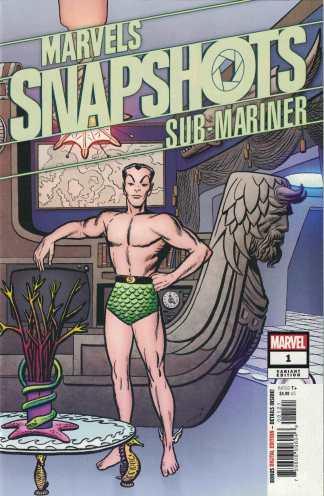 Marvel Snapshots Sub-Mariner #1 1:50 Jack Kirby Variant 2020