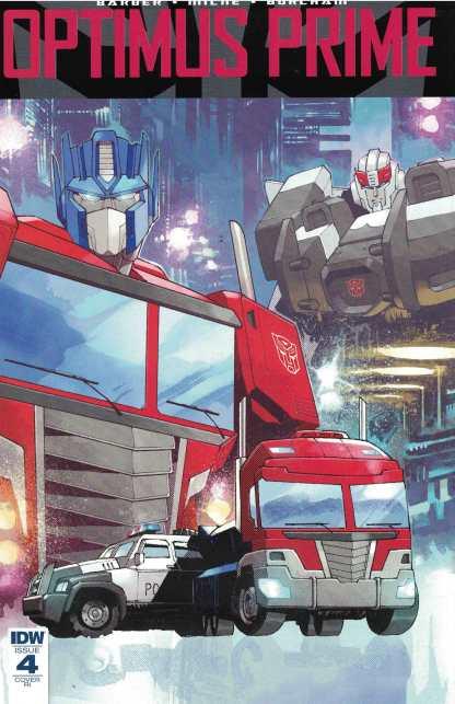 Optimus Prime #4 1:10 Retailer Incentive Variant RI Transformers IDW 2016