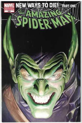 Amazing Spider-Man #568 Alex Ross Variant 1999 1st Print Anti-Venom NM/NM-