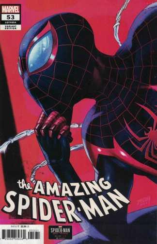 Amazing Spider-Man #53 1:10 Tim Tsang Miles Variant Marvel Last Remains
