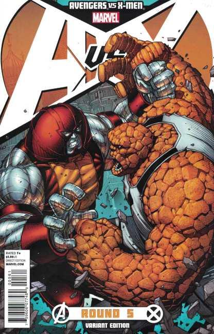 Avengers vs X-Men #5 1:25 Dale Keown Variant Marvel 2012 Colossus Thing