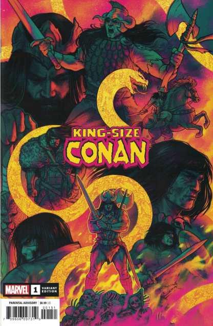 King-Size Conan #1 1:50 Jen Bartel Marvel 2020 Richard Thomas