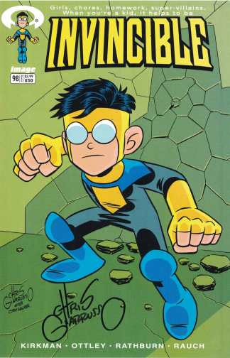 Invincible #98 Chris Giarrusso Variant Image 2012 Signed No CoA