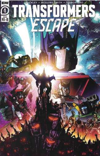 Transformers Escape #1 1:25 Sara Pitre-Durocher Variant IDW 2020