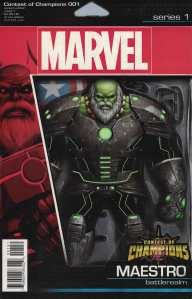 Contest of Champions #1 John Tyler Christopher Action Figure Variant Marvel 2015