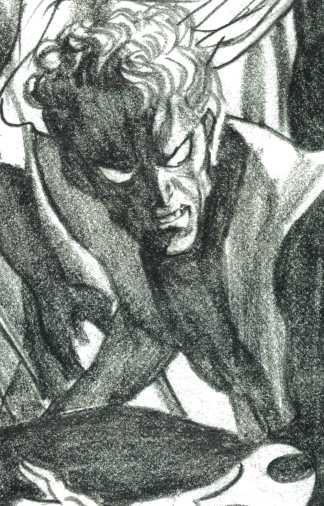 Excalibur #13 1:100 Alex Ross Timeless Virgin Sketch Variant Marvel Nightcrawler
