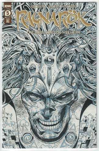 Ragnarok Breaking of Helheim #5 1:10 Walter Simonson Sketch Variant IDW 2019 VF