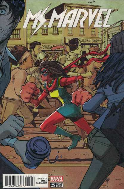 Ms. Marvel #25 1:25 Takeshi Miyazawa Variant Marvel Legacy