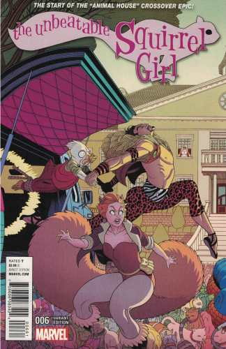 Unbeatable Squirrel Girl #6 Tradd Moore Connecting Variant A ANAD 2015