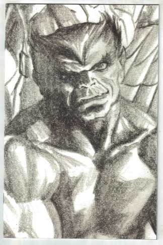 X-Force #13 1:100 Alex Ross Timeless Virgin Sketch Variant Marvel Beast VF/NM