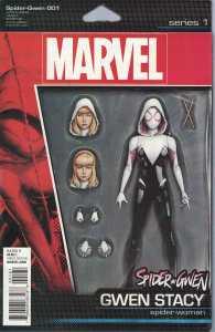 Spider-Gwen #1 Action Figure Variant Marvel 2015 ANAD