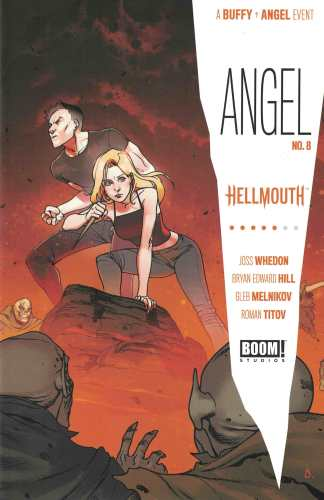 Angel #8 1:20 Bengal Variant BOOM 2019 Hellmouth Buffy