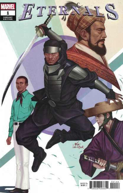 Eternals #1 1:25 Inhyuk Lee Variant Marvel 2021 Kieron Gillen Esad Ribic