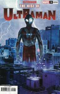 Rise of Ultraman #5 1:25 Kia Asamiya Variant Marvel 2020