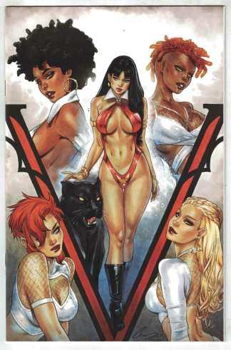 Sacred Six #3 1:10 Elias Chatzoudis Virgin Variant Dynamite 2020 VF/NM