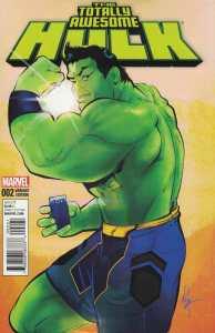 Totally Awesome Hulk #2 1:25 Afua Richardson Variant Marvel 2015 Greg Pak