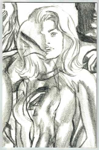 Fantastic Four #24 1:100 Ross Timeless Sketch Variant Invisible Woman VF/NM