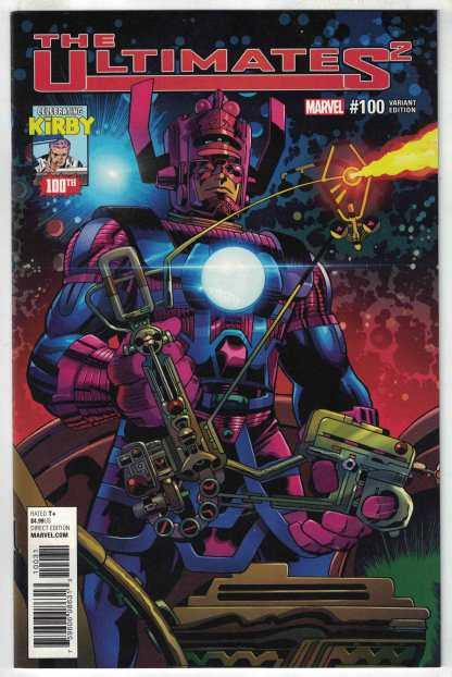 Ultimates 2 #100 1:10 Jack Kirby Variant Marvel 2017 VF/NM Galactus
