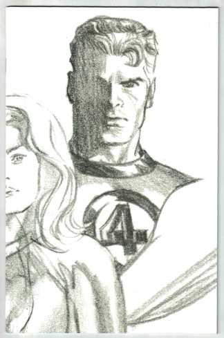 Fantastic Four #24 1:100 Ross Timeless Sketch Variant Mr Fantastic VF/NM