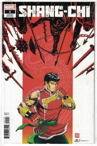 Shang-Chi #1 Su Variant Marvel 2020 Sister Hammer Five Weapons VF/NM