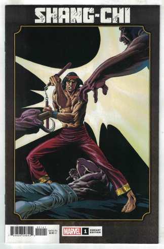 Shang-Chi #1 Rudy Nebres Hidden Gem Variant Marvel 2020 Sister Hammer VF/NM