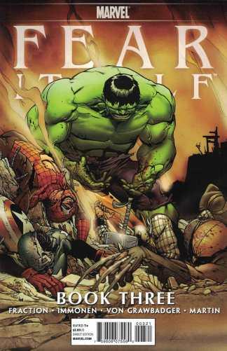 Fear Itself #3 1:75 Giuseppe Camuncoli Hulk Variant Marvel 2011 Matt Fraction