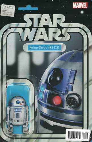 Star Wars #6 Christopher R2-D2 Action Figure Variant Marvel 2015